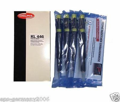Einspritzdüse EJDR01101D FORD Mondeo 2,0 TDCI 4 STÜCK+Kraftstofffilter Euro 3